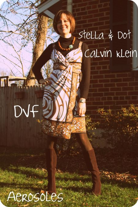 f25f2a9473fea Outfit post: How to wear a summer wrap dress in December | Fashion ...
