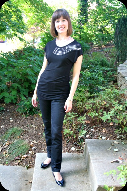 08793b104d9 Working mom Weekend Chic outfit: All Black Syndrome   Working mom ...