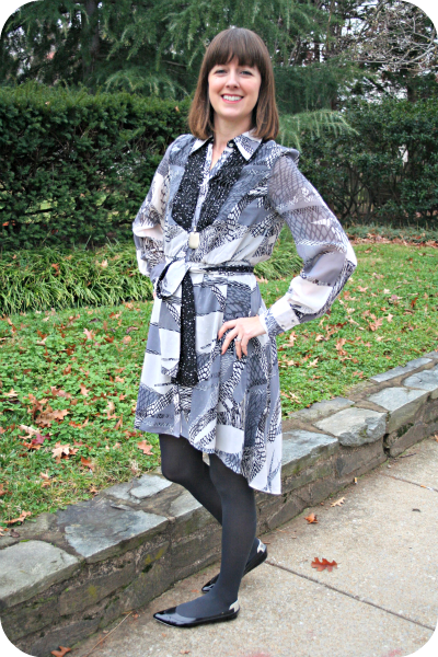 Working Mom Outfit Of The Week Client Meeting With Kirna Zabete Fishtail Hem Dress