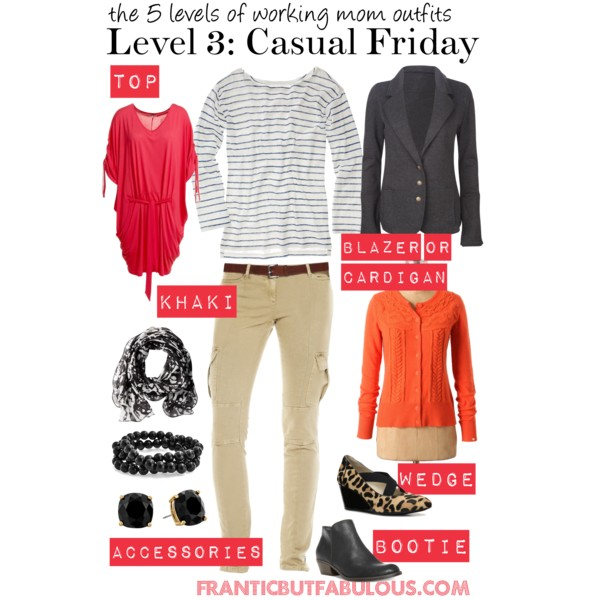 517a5d0c5d8 Working Mom Outfits Level 3  Casual Friday - Working mom style advice